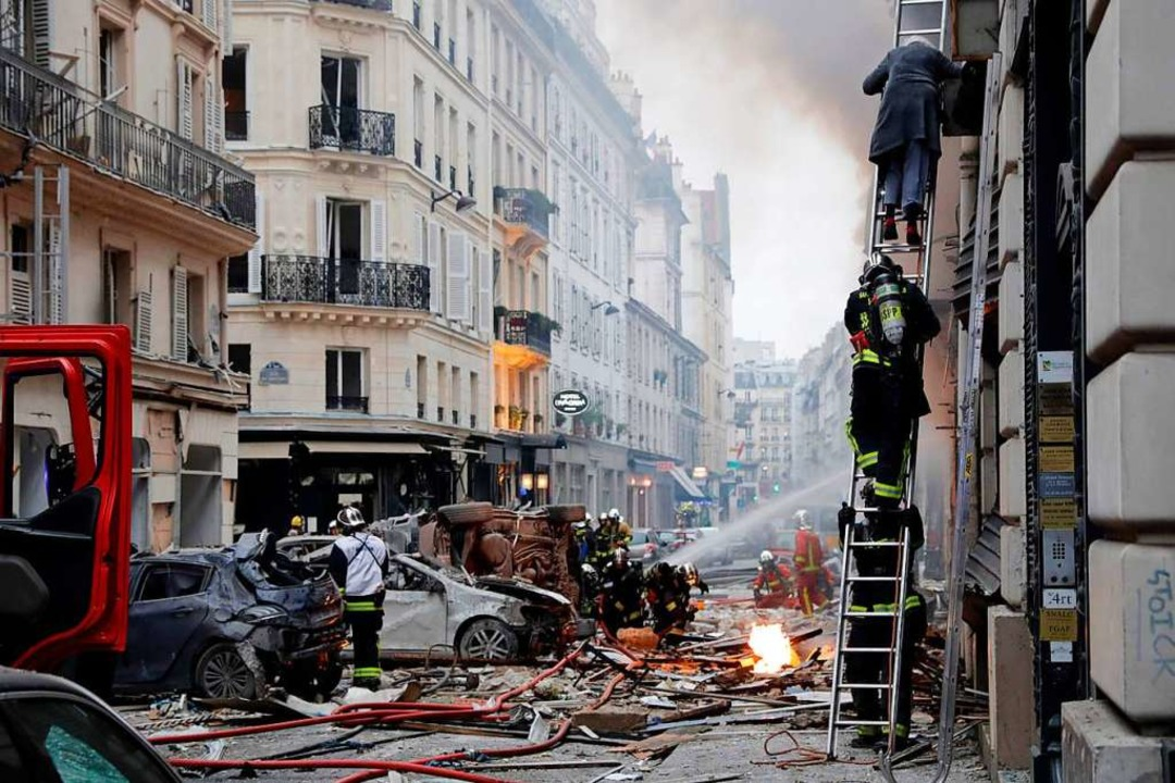 Drei Tote und dutzende Verletzte bei Explosion in Paris