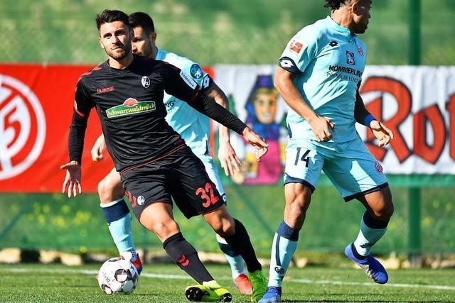 SC Freiburg holt 0:2-Rückstand im Testspiel gegen Mainz 05 auf