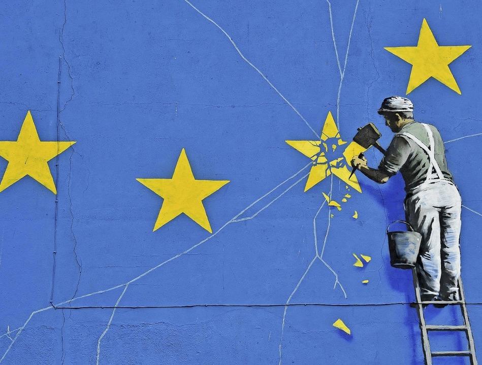 Durch den Brexit entstehen auch neue Jobs. Zum Beispiel beim Zoll.  | Foto:  AFP
