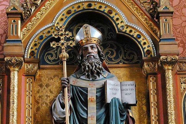 Die Pfarrkirche in Bollschweil ist dem heiligen Hilarius geweiht