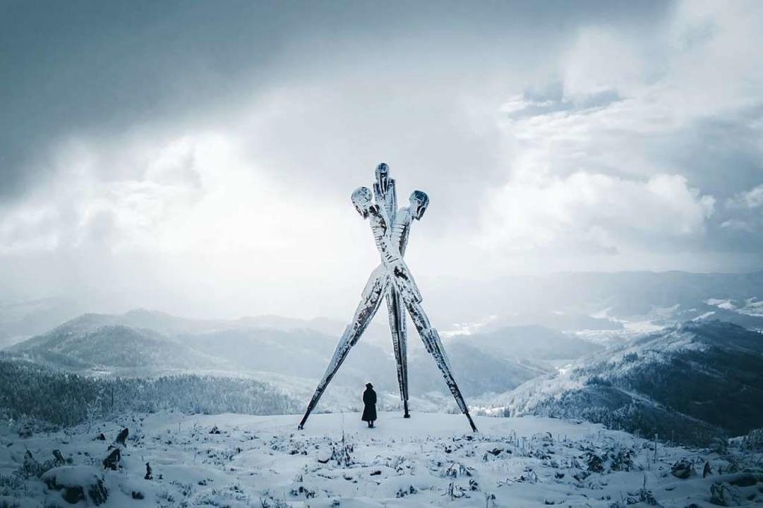 Lothar-Denkmal : eines der Fotos, mit ...lter großen Erfolg auf Instagram haben    Foto: Fabian Hübner