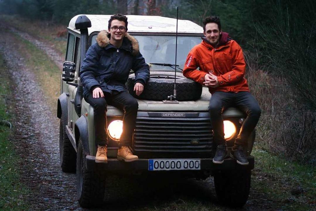 Marvin Walter (l.) und Fabian Hübner    Foto: Marvin Walter/Fabian Hübner