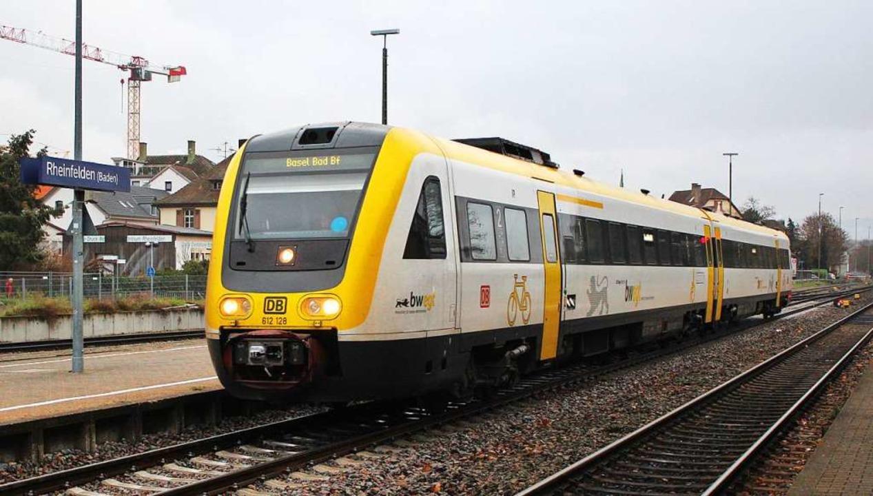 Nach der Elektrifizierung fahren  IRE ...tündlich und mit anderem Zugmaterial.   | Foto: Reissmann