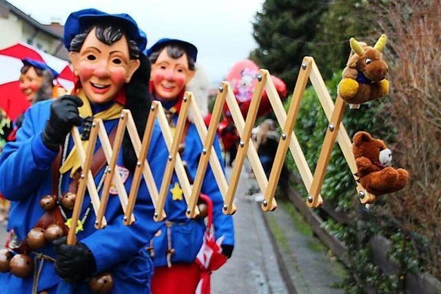 Marchwaldgeister eröffnen fünfte Jahreszeit im Breisgau