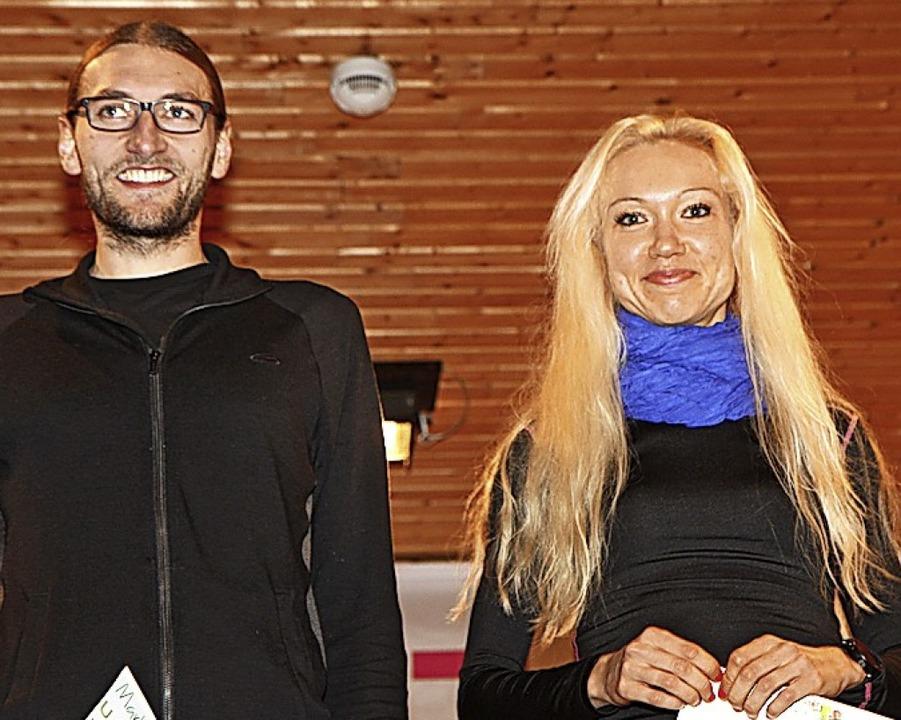 Cup-Sieger 2018: Robert Krinke und Sabine Schmey   | Foto: Winfried Stinn