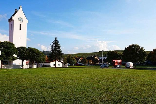 Auf dem Sportplatz-Areal in Schallstadt sollen noch in diesem Jahr die Bauarbeiten beginnen