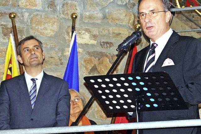 Bekenntnisse zur Einheit Europas