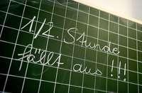 Unterrichtsausfälle - jede elfte Stunde nicht wie geplant
