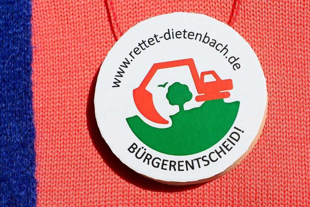 Die Gegnerinnen und Gegner des neuen S...es Zubringers als Freifläche erhalten.  | Foto: Ingo Schneider