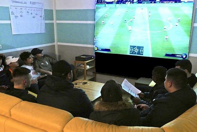 So war das erste Fifa-19-Turnier im Jugendzentrum Müllheim