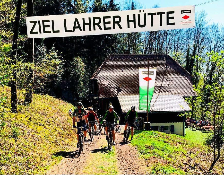 Der Mountainbiketag auf der Lahrer Hüt...un gibt es erstmals einen Familientag.    Foto: Privat