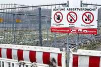 Bei Bauarbeiten fürs SC-Stadion wurden Asbest-Scherben gefunden
