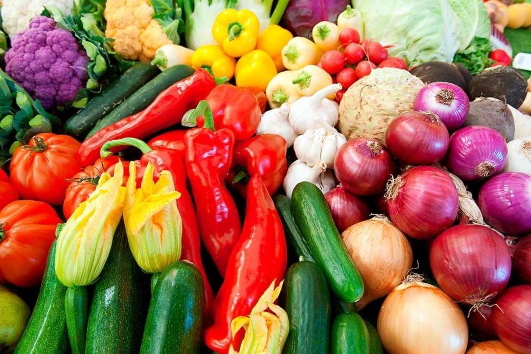 Schön bunt und gesund: Gemüse   | Foto: dpa