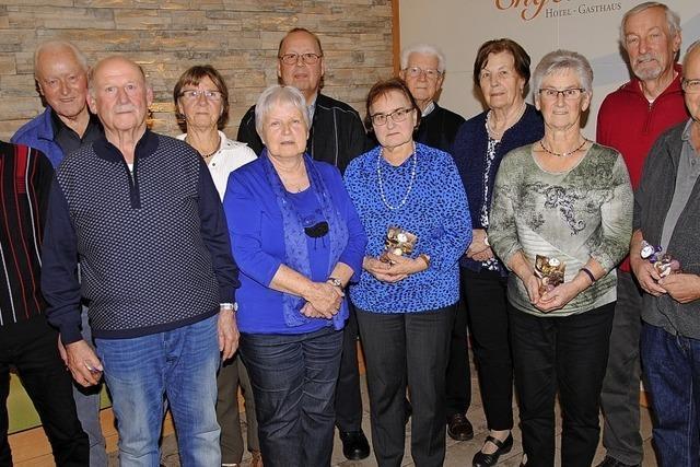 Bei der Senioren-Wandergruppe läuft es rund
