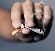 Weg mit den Zigaretten!