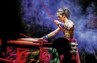 Japanische Trommler von Yamoto im Musical Basel
