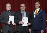 Verdienstmedaille für Kiss und Müller