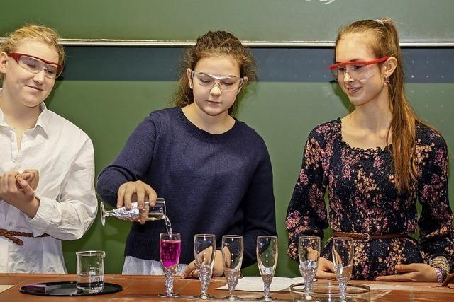 Wenn Chemieunterricht Spaß macht