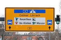 Kurioses Verwirrspiel an der Kronenbrücke