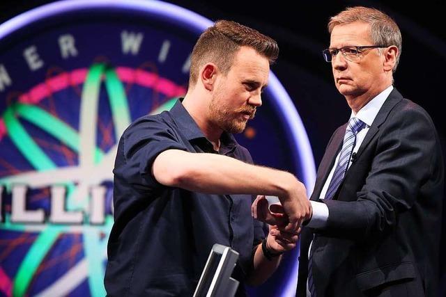 Der Ex-Schopfheimer Busfahrer Ingo Scholz gewinnt 250.000 Euro bei Günther Jauch