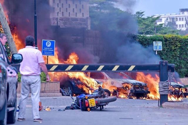 Mindestens 15 Tote bei Anschlag in Nairobi