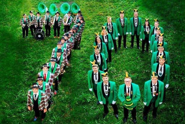 Die Narrengilde Oberried feiert ihr 70-jähriges Bestehen