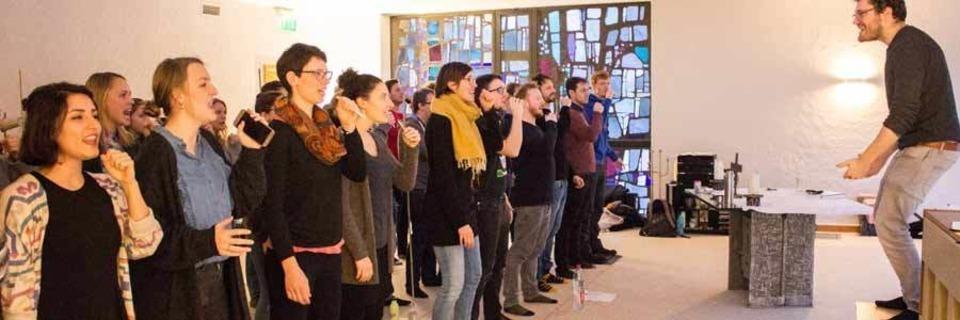 Der Freiburger A-Capella-Chor Twäng zelebriert die Popmusik