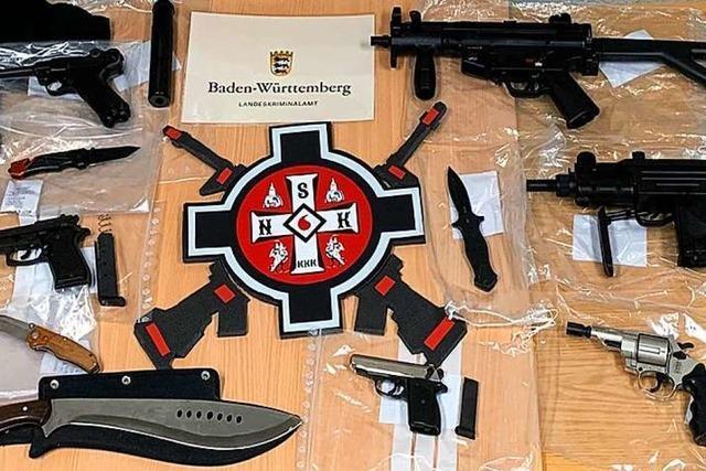 Razzia gegen mutmaßliche Mitglieder eines deutschen Ku-Klux-Klans