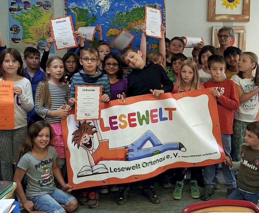 Kindern die Freude am Lesen zu vermitt...t Ortenau auf die Fahnen geschrieben.   | Foto: Lesewelt Ortenau