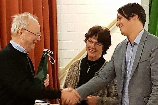 Anerkennung für mehr als 30 Jahre Engagement für die Kirchenmusik in Kirchzarten