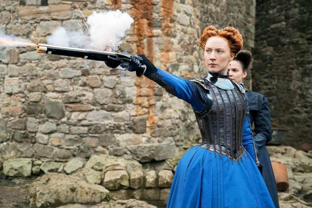 Saoirse Ronan spielt die junge Maria Stuart.    Foto: dpa