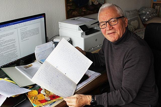 Ex-Lehrer hat 1500 Briefe von Schülern und Eltern aufgehoben