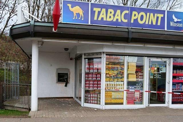 Geldautomat am Breisacher Grenzübergang gesprengt