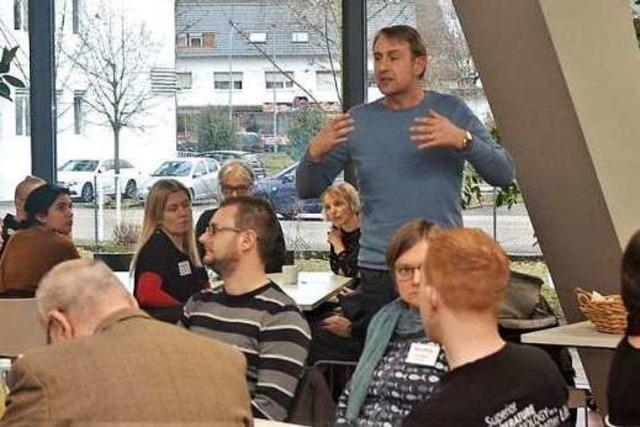 Schüler, Lehrer und Unternehmer haben sich über Berufsorientierung ausgetauscht