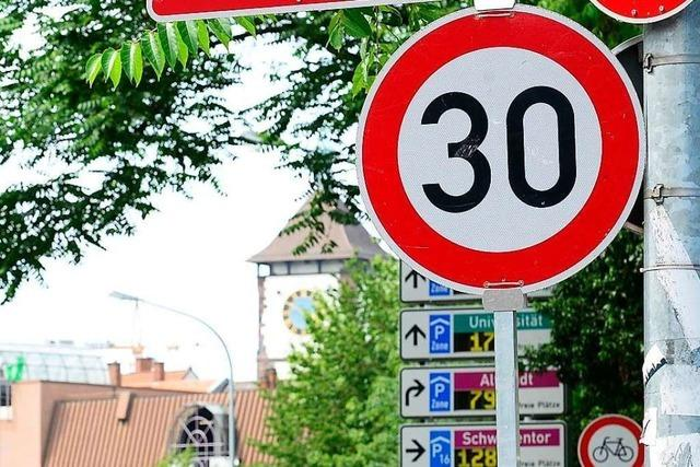 Ende der Tempo-30-Schonfrist: Auf Freiburgs B31 wird ab Montag geblitzt