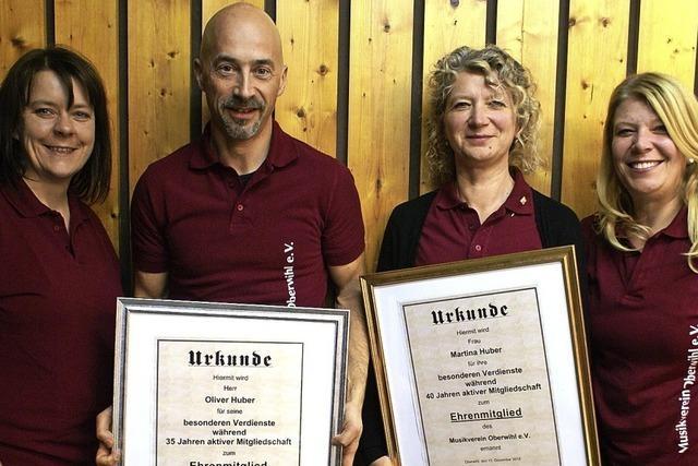Musikverein Oberwihl mit neuem Team im Vorstand