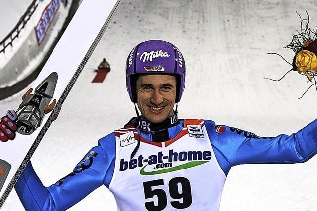 Skisprung-Ass als Sportpate