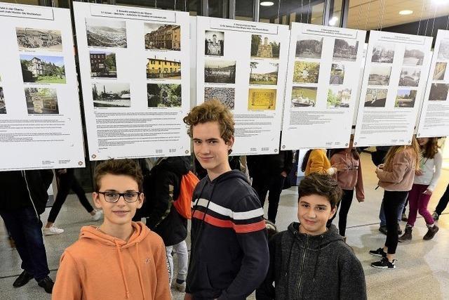 Schüler entdecken Quartiers-Historie