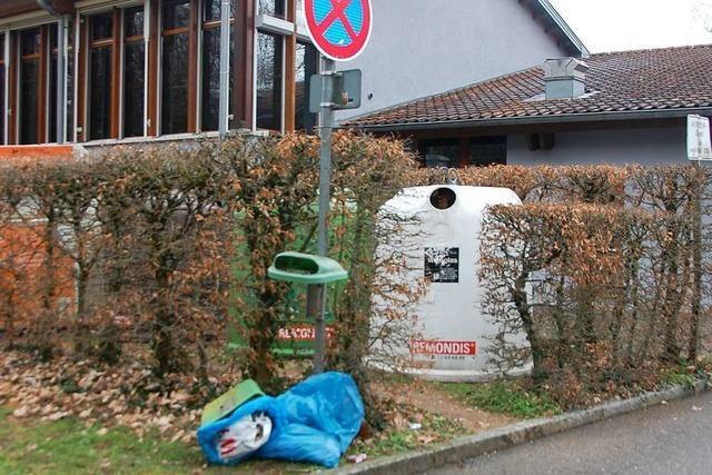 Der Ortschaftsrat Märkt will keine Videoüberwachung bei der Altrheinhalle
