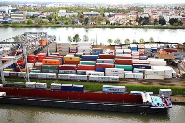 Die Ausbaupläne im Basler Rheinhafen bleiben umstritten