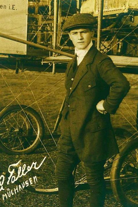 Pilot Artur Faller aus Schönau gründete 1926 die  Jugendherberge.  | Foto: repro: bz