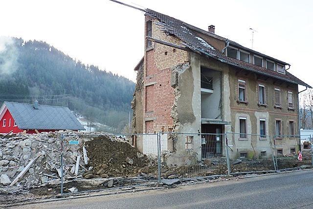 Die frühere Jugendherberge Schönau wird abgerissen