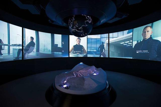 Ausstellung zeigt James-Bond-Sammlung – auf 3048 Metern