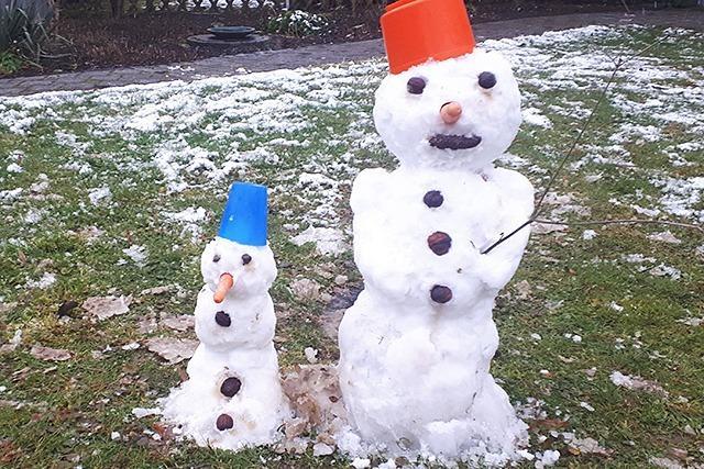 Abstimmung: Wer hat den schönsten Schneemann?