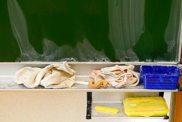 Das Ende der Kreidezeit in den Schulen muss kommen