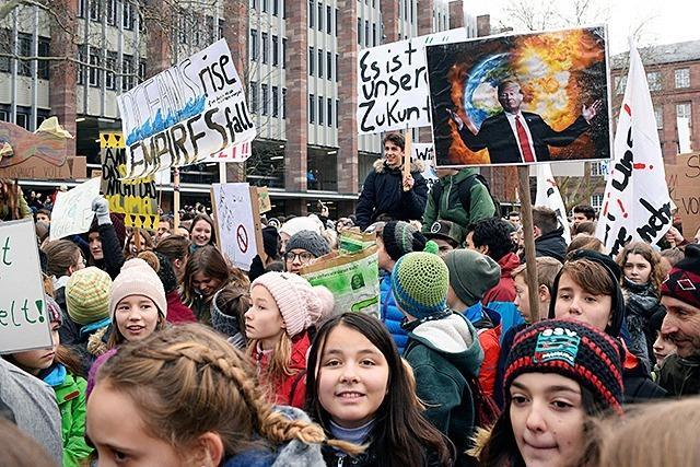 """Fotos: """"Fridays for Future"""" – die Klimaschutz-Demo in Freiburg"""