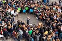 Für welche Zukunft lernen? Rund 500 Schüler streiken fürs Klima