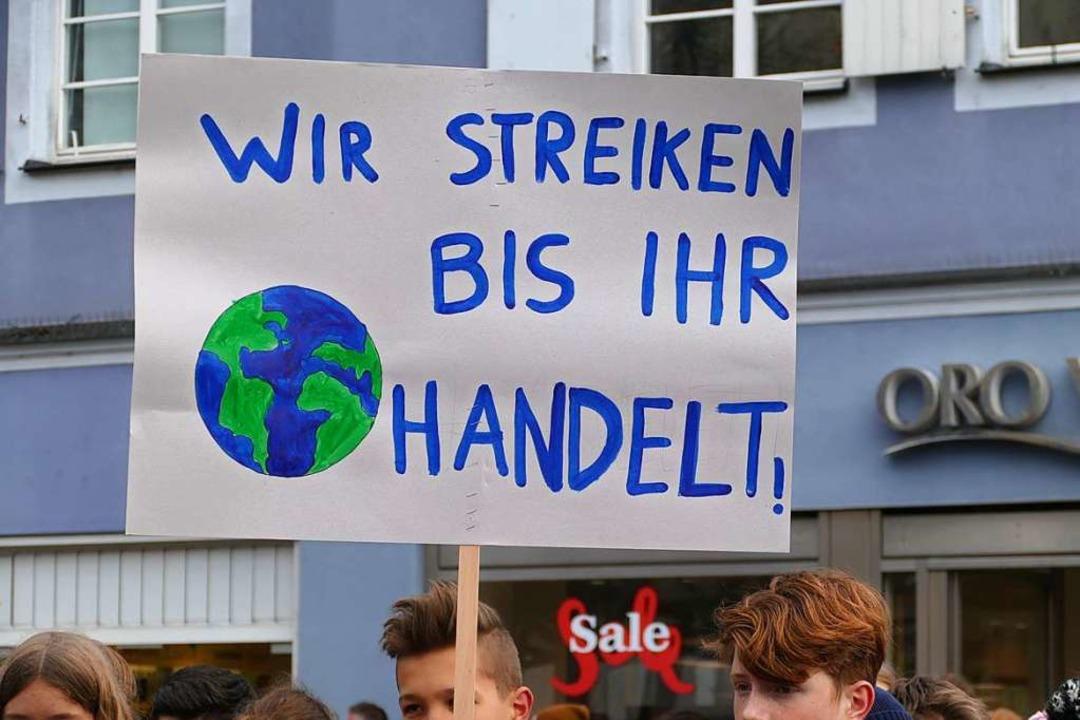 Klare Ansage. Na, mal sehen.  | Foto: Ralf Burgmaier