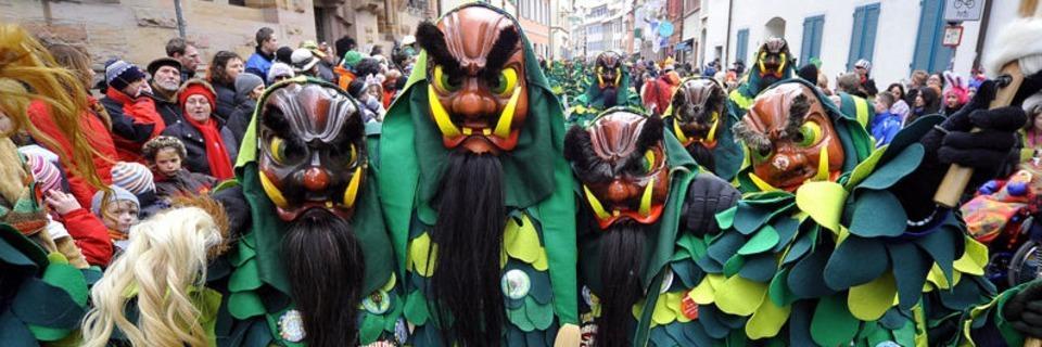 Die Narrengilde feiert ihr 70-jähriges Bestehen mit einem großen Festumzug