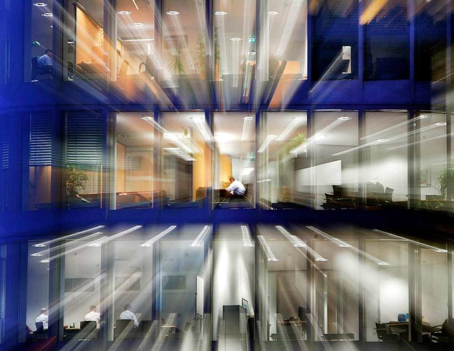 Arbeitsplatz für viele: das Büro.   | Foto: DPA